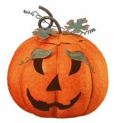 Lidded Jack-O Lantern - Click to enlarge