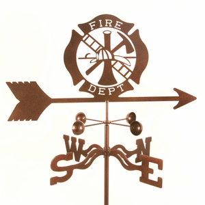 Fire Dept. Weathervane - Click to enlarge
