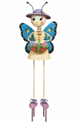 Butterfly Lady Garden Decor - Click to enlarge