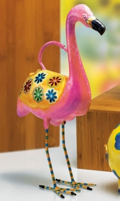 Flamingo Watering Can - Click to enlarge