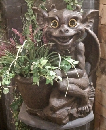 Gargoyle Planter - Mother Olga - Click to enlarge