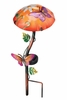 Butterfly Solar Powered Mushroom Light Stake