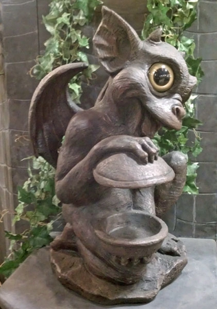 Gargoyle Bird Feeder - Brother Igor - Click to enlarge