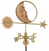 Celestial Moon Weathervane