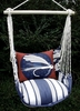 Marina Stripe Fish Lure Hammock Chair Swing Set