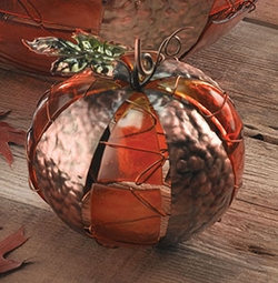 Thanksgiving Pumpkin Votive - Click to enlarge