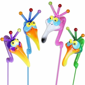 NerdyNecks Garden Stakes (Set of 6) - Click to enlarge
