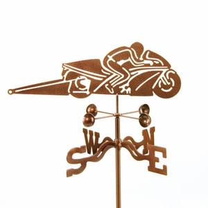 Pro Stock Motorcycle Weathervane - Click to enlarge