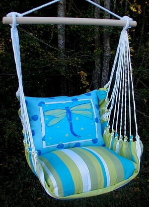 Beach Boulevard Dragonfly Hammock Chair Swing Set - Click to enlarge