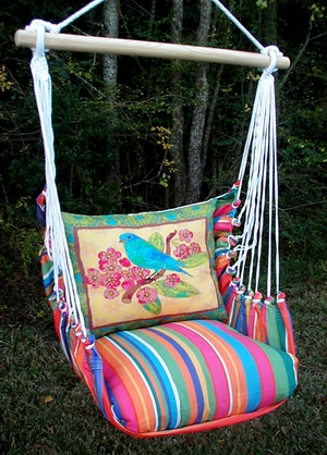 Le Jardin Ladybird Hammock Chair Swing Set - Click to enlarge