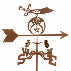 Shriners Weathervane - Click to enlarge