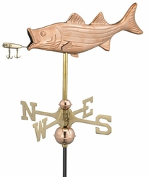 Bass Fish Weathervane - Click to enlarge