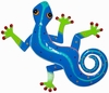 XL Blue Spotted Gecko Wall Art