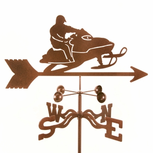 Snowmobile Weathervane - Click to enlarge