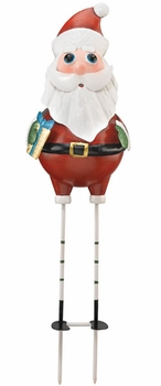 Christmas Santa Garden Stake - Click to enlarge