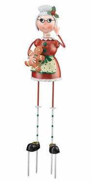 Mrs. Claus Garden Decor - Click to enlarge