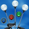 Solar Garden Globes - Multi-Color (Set of 3)