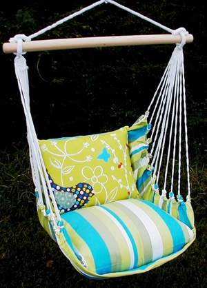 Beach Boulevard Twitter Bird Hammock Chair Swing Set - Click to enlarge