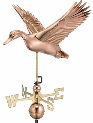 Flying Duck Weathervane - Click to enlarge