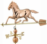 Large Horse Weathervane