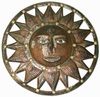 Bronze Sun Wall Decor