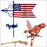 Patriotic Weathervanes