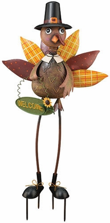 Turkey Man Garden Decor - Click to enlarge