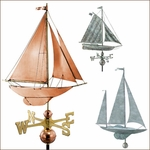 Sailboat Weathervanes