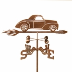 Willys Car Weathervane