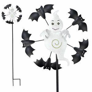 Halloween Ghost Garden Spinner - Click to enlarge