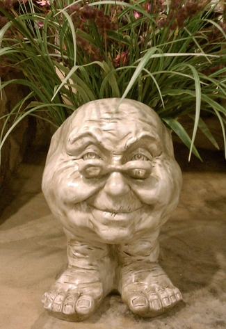 Grandma Violet Face Planter - Click to enlarge