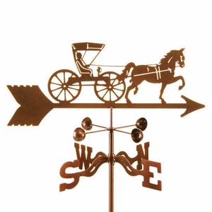 Horse & Buggy - Doctor Weathervane - Click to enlarge