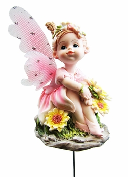 Fairy Wings Garden Stakes (Set of 6) - Click to enlarge