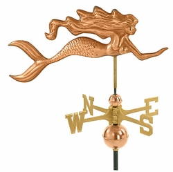 Mermaid Weathervane - Click to enlarge