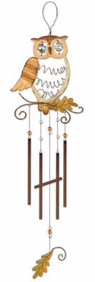 Owl Wind Chime - Click to enlarge