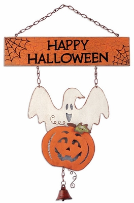 Happy Halloween Door Hanger - Click to enlarge