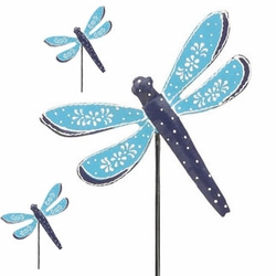 Blue Dragonfly Picks (Set of 6) - Click to enlarge