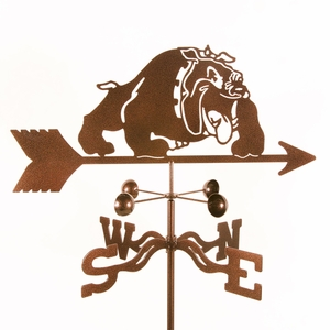 Bulldog Weathervane - Click to enlarge