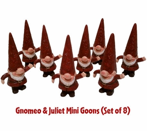 Mini Goons (Set of 8) - Gnomeo & Juliet - Click to enlarge