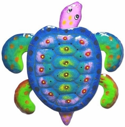 Blue Green Sea Turtle Decor - Click to enlarge