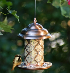 Metal Canopy Feeder w/Tray - Click to enlarge
