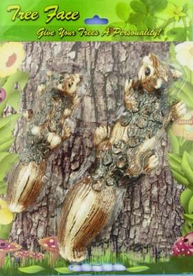 Squirrel Set Tree Art - Click to enlarge