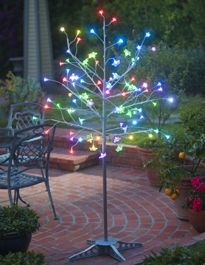 Color Changing LED Tree - Click to enlarge