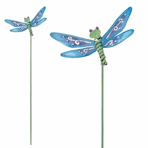 Dragonfly Garden Stakes (Set of 6) - Click to enlarge