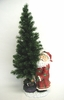 "36"" Fiber Optic Christmas Tree Decoration - Classic Santa"