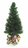 "25"" Fiber Optic Christmas Tree - Musical Snowmen"