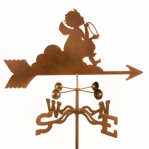 Angel on Cloud Weathervane - Click to enlarge