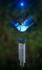 Blue Jay LED Light Wind Chime