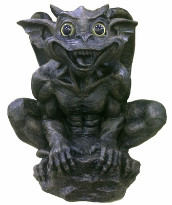Solar Gargoyle Statue - Click to enlarge