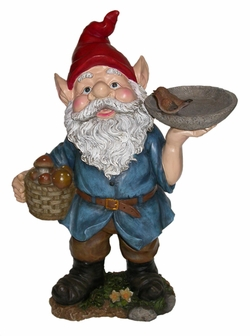 Large Gnome Bird Feeder - Click to enlarge